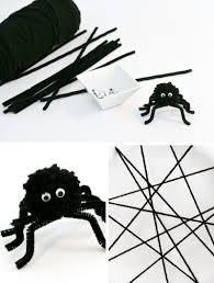 Preschool Halloween Spider Books by Easy Spider Craft Ideas Make A Fuzzy Spider U0026 Paper Plate Web