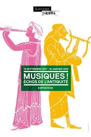 musiques échos de l antiquité musée du louvre lens lens 62300