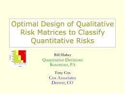 Optimal Design of Qualitative Risk Matrices to Classify