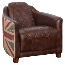 Halo Occasional Chair Vintage Bonded Leather Brown/Union Jack ... Retro Brown Leather Armchair Near Blue Stock Photo 546590977 Vintage Armchairs Indigo Fniture Chesterfield Tufted Scdinavian Tub Chair Antique Desk Style Read On 27 Wide Club Arm Chair Vintage Brown Cigar Italian Leather Danish And Ottoman At 1stdibs Pair Of Art Deco Buffalo Club Chairs Soho Home Wingback Wingback Chairs Louis Xvstyle For Sale For Sale Pamono Black French Faux Set 2
