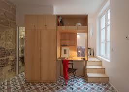 100 Paris By Design Studio Apartment By Anne Rolland Has A Hidden Room