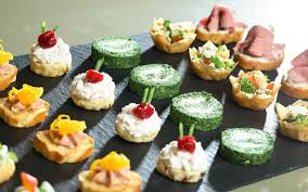 canapes for amanda guest to cater for launch of stephen cripps exhibition
