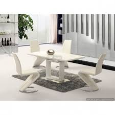 100 White Gloss Extending Dining Table And Chairs High Image Collections Round