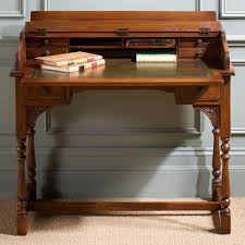 oak writing bureau furniture charm oak writing desk 2805
