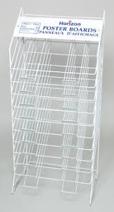 POSTER BOARD DISPLAY RACK 10 TIER REF RACK ONLY 5222