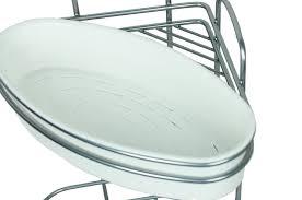 badregal eckregal duschregal ablage badezimmer regal 2 ebenen ohne bohren