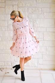 pink polka dots the chic burrow