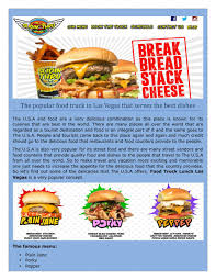 100 Vegas Food Trucks PPT The Best Popular Las Vegas Food Trucks According To