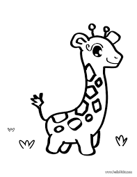 Giraffe Toy Coloring Page Shape For Onesies