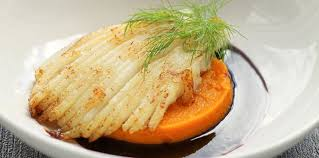 comment cuisiner une raie aile de raie poêlée et purée de potimarron facile et pas cher