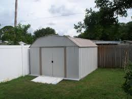 Sears Metal Shed Instructions by Arrow Dakota 10 Ft X 14 Ft Steel Shed Dk1014 The Home Depot