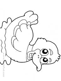 Duck Coloring Pages New For Books Preschoolers Pictures Animal