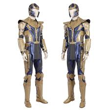 Updated Avengers Infinity War Cosplay Thanos Cosplay Costume