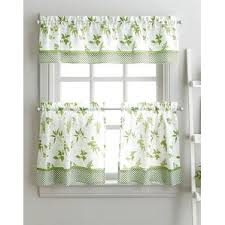 White Kitchen Curtains With Sunflowers by Kitchen Curtains You U0027ll Love Wayfair