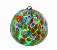 Murano Glass Christmas Tree Ball PP24