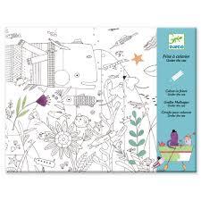 Frise à Colorier Océan DJECO Coloriage Pour Enfant Déco Originale