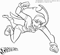 Dc Super Heroes Coloring Pages Friends