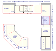 Kitchen Floor Plans With Islands For Also 6011