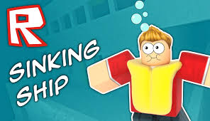 the ship is sinking roblox youtube