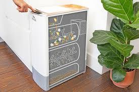 kalea küchenkomposter verwandelt biomüll in 48 stunden zu