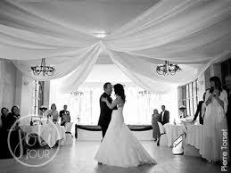 drapé plafond salle mariage boutique au élia