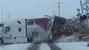 100 Fedex Truck Wreck Video Shows Commuter Train Crash Into Semi Truck Cutting It In Half