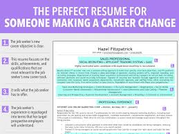Career Change Resume Objective Examples 5