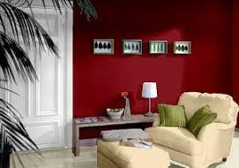 wohnzimmer farbkombination wandfarben in rot ziegel