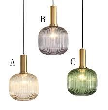 glas pendelleuchte laterne design 1 flammig für wohnzimmer