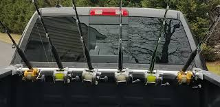 100 Truck Fishing Pole Holder TRUCK BED ROD CARRIER The Pipe Bender