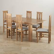 THOMASVILLE Solid Dining Table And Chairs OAK Natural 60