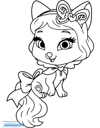 Palace Pets Coloring Pages 5