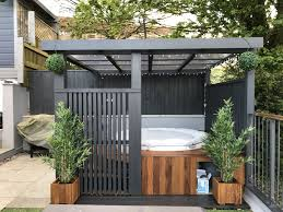 Modern Grey Pergola.Lazy Spa Hot Tub, Iroko Surround | Hot Tubs ... Keys Backyard Jacuzzi Home Outdoor Decoration Fire Pit Elegant Gas Pits Designs Landscaping Ideas With Hot Tub Fleagorcom Multi Level Deck Design Tub Enchanting Small Tubs Images Spool Hot Tubpool For Downward Slope In Backyard Patio Firepit And Round Shape White Interior Color Above Ground Patios Magnificent With Inspiration House Photo Outside