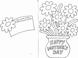 Mothers Day Cards Flower Coloring Pages