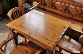 gomab ess tisch mit 2 stühlen und ein pankart ca 100 80