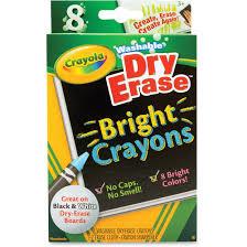 Crayola Bathtub Crayons Stain by Odorless Dry Erase Crayons Walmart Com
