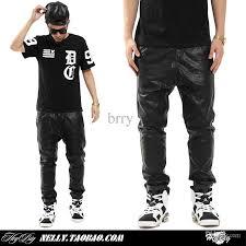 Best Wholesale Hip Hop Men Urban Clothing Kanye West Swag Dance Pants Boys Joggers Black Fashion Mens Plus Size Leather Under 388