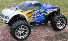 100 Gas Rc Monster Trucks RC Nitro Truck HSP 110 Scale 4WD 24G RTR YX10111B