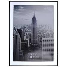 cadre photo manhattan henzo 60 x 80 cm noir blokker