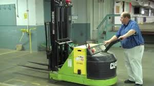 Clark 3,000 Lb. Electric Walk Behind Lift - Tag #21671 - YouTube Clark Forklift 15000 Lbsdiesel Perkinsauto Trans Triple Stage Heftruck Elektrisch Freelift Sideshift 1500kg Electric Where Do I Find My Forklifts Serial Number Clark Material Handling Company History 25000 Lb Fork Lift Model Chy250s Type Lp 6 Forks Used Pound Batteries New Used Refurbished C500 Ys60 Pneumatic Bargain Forklift St Louis Daily Checks Procedure Youtube