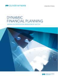 Dynamic Value Annual Financial Risk Dynamic Financial Planning Enterprise Risk Management Matter