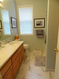porcelain tile that looks like marble spaces eclectic with