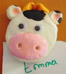 aimant vache tête à modeler