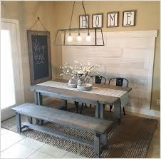 1 A Planked Wall With Distressed Paint Look Looking Perfect The Farmhouse Style Setting