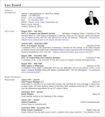 Sharelatex Cv Template
