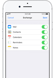 Set up Exchange ActiveSync on your iPhone iPad or iPod touch