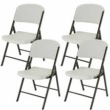 Lifetime - Commercial Contoured Folding Chair - White Or Almond - 4 Pack Lifetime Commercial Folding Chair 201 D X 185 W 332 H Almond White Plastic Seat Metal Frame Outdoor Safe Set Of 4 With Carry Handle Ltm480372 Chairs 32 Pack 80407 Black Classic 4pack Lowes Pk 80643 480625 Contemporary 42810 Light Granite Of 6foot Stacking Table And Combo