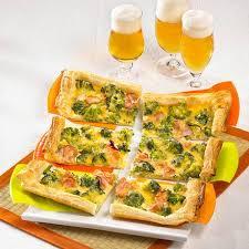 pikanter blätterteig brokkoli kuchen