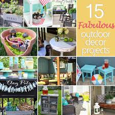 15 Fabulous Outdoor Decor Projects {DIY Challenge Features} | The ... Backyard Diy Projects Pics On Stunning Small Ideas How To Make A Space Look Bigger Best 25 Backyard Projects Ideas On Pinterest Do It Yourself Craftionary Pictures Marvelous Easy Cheap Garden Garden 10 Super Unique And To Build A Better Outdoor Midcityeast Summer Frugal Fun And For The Gracious 17 Diy Project Home Creative
