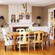 Fireplace In Dining Room Current Decorating Ideas The This Traditional Could